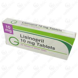 Lisinopril 10mg x 84